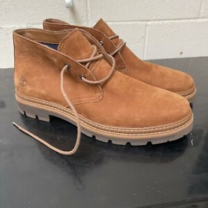 Timberland Port Union Chukka Boots Men's Shoes 10 Brown