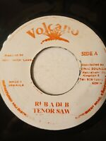 "Tenor Saw-Rub A Dub 7"" Vinyl Single"