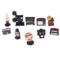 Miniature Dollhouse Retro Giocattoli Modello di Mobili Casa delle Bambole Dec LF