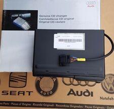 AUDI TT 8n ROADSTER ORIGINALE CARICATORE CD changer 8n7057111b 8n7035111b NUOVO
