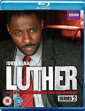 Luther Complete Series 2 Blu Ray All Episodes Second Season Original UK Release