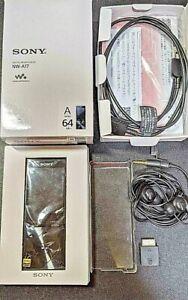 SONY NW-A17 64GB Walkman  Portable Hi-Res Audio Digital Media Player Black