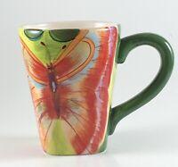 La Dolce Vita Free Flight Collection Butterfly Coffee Mug