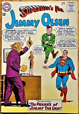 "SUPERMAN'S PAL JIMMY OLSEN #74 (1964) ""The PRANKS of JIMMY THE IMP!"""