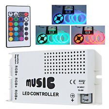 24 Key IR Wireless RGB LED Strip Light Music Sound Controller Dimmer Excellent