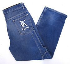 Karl Kani Herren Baggy Jeans Hose Hip Hop Rap Pants Skater W34 Denim Cotton C670