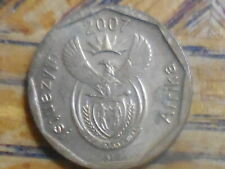 "2007 South Africa ""Afrika uMzantsi"" 10 Cent Coin (seller's # 260)"