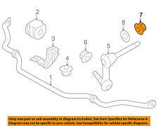 NISSAN OEM Stabilizer Bar-Front-Stabilizer Link Nut 552692Y00A