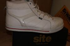 Site Shale White High Leather Safety Trainers catering warehouse - SZ 11 - AA46