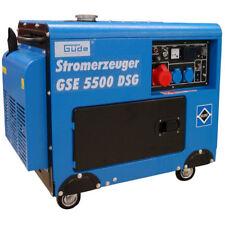 Güde Diesel producteurs d'électricité d'électricité agrégat Générateur GSE 5500 DSG AVR 10ps 230/400v