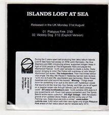 (EV653) Islands Lost At Sea, Platypus Fink / Wobbly Dog - 2009 DJ CD