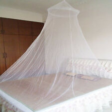 White Netting Canopy Bed Curtain Dome Fly Mosquito Net Insect Stopping Ourdoor