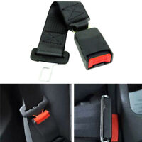 "Car Auto Seat Seatbelt Safety Belt Extender Extension 7/8"" Buckle 36cm Black YNS"