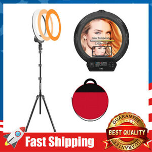 """18"""" Ring Light Kit Led Wireless with Carrying Bag for Streaming, Makeup, Selfie"""