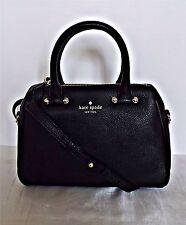 KATE SPADE  - Mini Brantley Charles Street Leather Satchel - Black