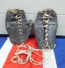 Raro Antiguo Vintage Cuero Guantes De Entrenamiento Spalding Boxeo boxeadores Gimnasio