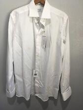 Eton Mens Contenporary Dress Shirt White Sz 41/16 (nwt)