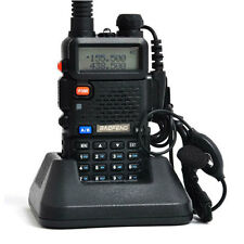 Baofeng Black UV-5R Dual-Band 136-174/400-520 MHz Ham Radio Two-Way Transceiver