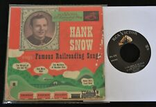 EP Hank Snow Famous Railroading Songs RCA VICTOR 310 The Wreck of Old '97,
