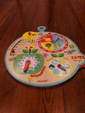 Janod Calendar - Over Time Toy