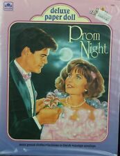 Vintage Whiman Deluxe Paper Doll Set Prom Night Uncut