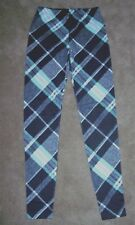 PLAID FLEECE LINED LEGGINGS, ASSORTED SIZES, BRAND NEW WITH TAGS FREE SHIPPING