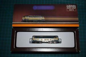 Marklin 8874 Locomotive BR 216 DB Echelle Z 1/220