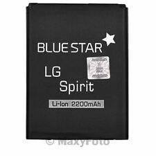 BATTERIA ORIGINALE BLUE STAR 2200mAh RICAMBIO LITIO PILA PER LG SPIRIT L65 D280