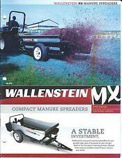 Farm Equipment Brochure - Wallenstein - Mx series - Manure Spreaders (F4664)