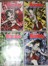 School Rumble DVD Volume 1-4 Japanese Anime Region 1 Animation