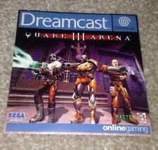 Quake III/3 Arena Sega Dreamcast Game Front Inlay Only