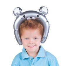INFLATABLE MOUSE EARS HEADBAND - KIDS ANIMAL BLOW UP FANCY DRESS PARTY ACCESSORY