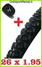1 X Neumático + 1 x Cámara de aire bici bicicleta Mountain Bike MTB 26 x 1.95
