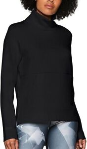 Under Armour Move Mock Neck Long Sleeve Womens Training Top - Black