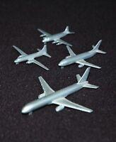4 x Miniaturflugzeuge Schabak, Metall,  Boeing 757, V. Viscount u.a.