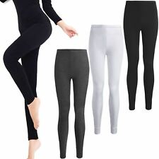 WOMENS LADIES THERMAL LONG JOHNS UNDERWEAR WINTER SKI LEGGINGS BOTTOM TROUSERS