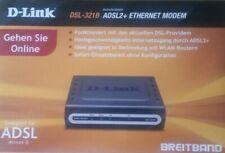D-Link DSL-321B, ADSL2+ Modem inkl. Zubehör in OVP