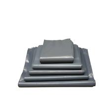 Grey Mailing Bags Waterproof Strong Poly Postal Postage Self Seal - 200 Pack