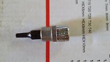 "T15 - 1/4"" drive Torque Torx socket Bit size: T15. Chrome Vanadium CrV. JMV"