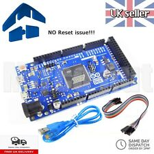 Arduino Due Compatible R3 SAM3X8E 32bit bras CortexM 3-no Reset issue-Testé