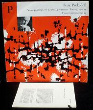 Prokofiev / Prokofieff Claude Helffer Sonate 2, Visions... CFD 65 LP & CV EX