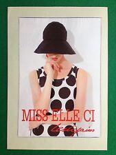 PX235 Pubblicità Advertising Werbung Clipping 29x20 cm  LES COPAINS MISS ELLE CI