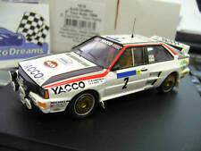 AUDI Quattro Rallye Gr.B  Tour Auto France 1984 Darniche Yacco Trofeu 1:43