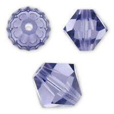 Swarovski Crystal Bicone. Tanzanite Color. 4mm. Approx. 144 PCS. 5328