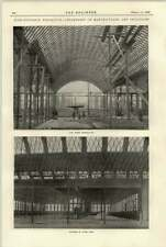 1897 Nijni-Novgorod exposition machines Hall pendant la construction