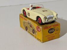 Dinky Toys no- 109 Austin Healey Sports cream Original