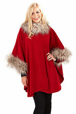 Unbranded Button Ponchos for Women