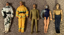 """Vintage 12"""" Inch GI Joe Action Figures and Other Action Figures Lot Of 5"""