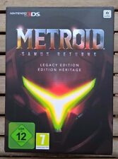 METROID Samus Returns Edition Héritage (Legacy Edition) Nintendo 3DS NEUF/NEW