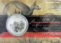 2013 KANGAROO SILVER 1oz Coin Carded